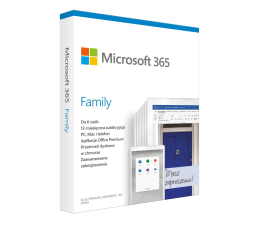 Program biurowy Microsoft 365 Family