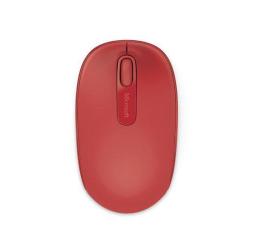 Myszka bezprzewodowa Microsoft 1850 Wireless Mobile Mouse (czerwona)