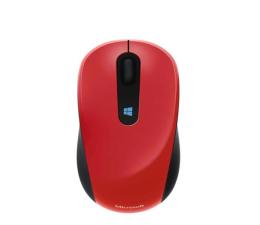 Myszka bezprzewodowa Microsoft Sculpt Mobile Mouse Ognista Czerwień