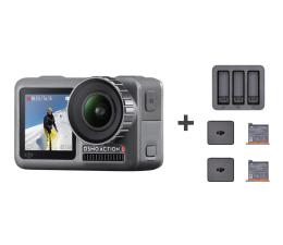 Kamera sportowa DJI Osmo Action + Charging Kit