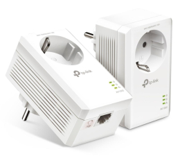 Adapter HomePlug (PLC) TP-Link TL-PA7017P KIT PowerLine 1000Mb/s (2szt. gniazdko)