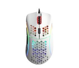 Myszka przewodowa Glorious PC Gaming Race Model D (Glossy White)