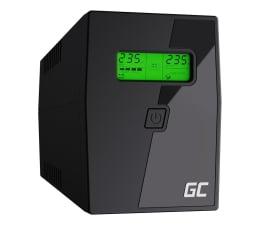 Zasilacz awaryjny (UPS) Green Cell UPS (600VA/360W, 2x Schuko, AVR, LCD)