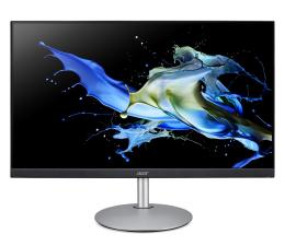 """Monitor LED 24"""" Acer CB242YSMIPRX srebrno-czarny"""