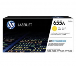 Toner do drukarki HP 655A yellow 10500str.