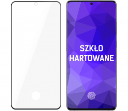 Folia / szkło na smartfon 3mk HardGlass MAX do Samsung Galaxy S20