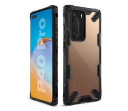 Etui / obudowa na smartfona Ringke Fusion X do Huawei P40 Pro czarny