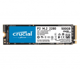 Dysk SSD Crucial 500GB M.2 PCIe NVMe P2