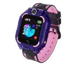 Smartwatch dla dziecka Garett Kids Play fioletowy