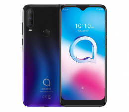 Smartfon / Telefon Alcatel 3L (2020) czarno-niebieski
