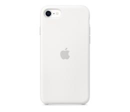 Etui / obudowa na smartfona Apple Silicone Case do iPhone 7/8/SE biały