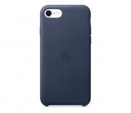 Etui / obudowa na smartfona Apple Leather Case do iPhone 7/8/SE nocny błękit