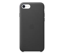 Etui / obudowa na smartfona Apple Leather Case do iPhone 7/8/SE czarny