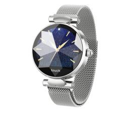 Smartwatch Garett Women Lisa srebrny (stalowy)