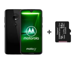 Smartfon / Telefon Motorola Moto G7 4/64GB Dual SIM Ceramic Black + 64GB