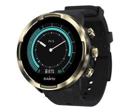 Zegarek sportowy Suunto 9 Baro Gold Leather Wrist HR