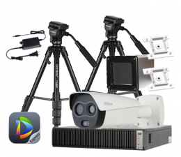 Kamera IP Dahua System Pomiaru Temperatury Ludzkiego Ciała (HBTM)