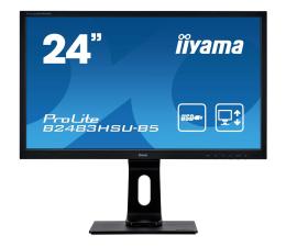 "Monitor LED 24"" iiyama B2483HSU-B5 czarny"