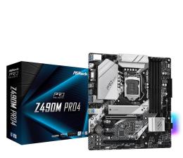 Płyta główna Socket 1200 ASRock Z490M Pro4