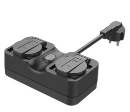 Gniazdo Smart Plug Meross MSS620 bezprzewodowe zewnętrzne (Wi-Fi)