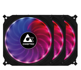 Wentylator do komputera Chieftec Tornado RGB 3x120mm