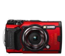Aparat kompaktowy Olympus TG-6 czerwony