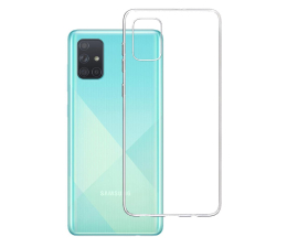 Etui / obudowa na smartfona 3mk Clear Case do Samsung Galaxy A71