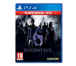Gra na PlayStation 4 PlayStation Resident Evil 6 PLAYSTATION HITS