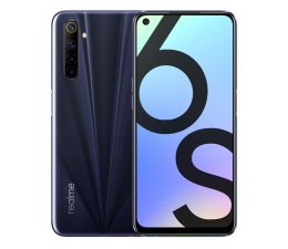 Smartfon / Telefon Realme 6s 4+64GB Eclipse Black 90Hz