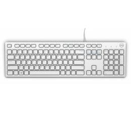 Klawiatura  przewodowa Dell KB216-B QuietKey USB (biała)