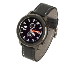 Smartwatch Garett Men 5S czarny (skórzany)