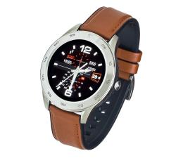 Smartwatch Garett GT22S jasny brąz (skórzany)