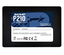 "Dysk SSD Patriot 256GB 2,5"" SATA SSD P210"