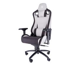 Fotel gamingowy Silver Monkey SMG-850 (Czarno-Szary) Tkanina