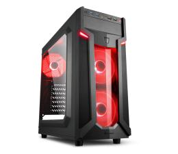 Obudowa do komputera Sharkoon VG6-W Red