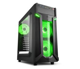 Obudowa do komputera Sharkoon VG6-W Green