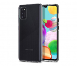 Etui / obudowa na smartfona Spigen Liquid Crystal do Samsung Galaxy A41 Clear