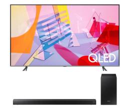 """Telewizor 60"""" i większy Samsung QE75Q64TA +HW-R550"""