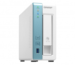 Dysk sieciowy NAS / macierz QNAP TS-131K (1xHDD, 4x1.7GHz, 1GB, 3xUSB, 1xLAN)