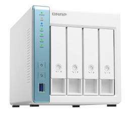 Dysk sieciowy NAS / macierz QNAP TS-431K (4xHDD, 4x1.7GHz, 1GB, 3xUSB, 2xLAN)