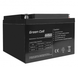 Akumulator do UPS Green Cell Akumulator AGM VRLA  12V 26Ah