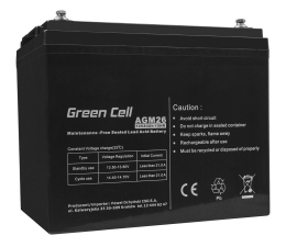 Akumulator do UPS Green Cell Akumulator AGM VRLA  12V 84Ah