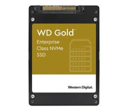 Dysk SSD WD 7,68TB U.2 PCIe NVMe Gold