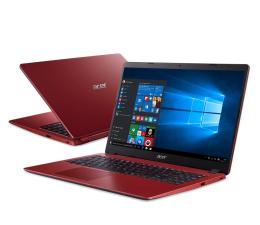 """Notebook / Laptop 15,6"""" Acer Aspire 3 i3-1005G1/4GB/256/W10 FHD Czerwony"""