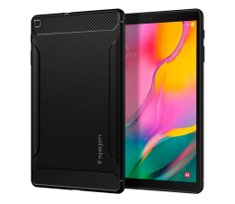 Etui na tablet Spigen Rugged Armor do Galaxy Tab A 2019 T510/T515 czarny