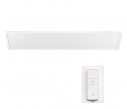 Inteligentna lampa Philips Hue White and Ambiance(Lampa 120x30 Aurelle prostokąt)