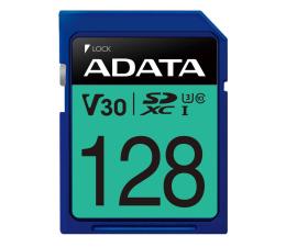 Karta pamięci SD ADATA 128GB SDXC Premier Pro 100MB/s U3 V30S