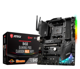 Płyta główna Socket AM4 MSI B450 GAMING PRO CARBON MAX WIFI