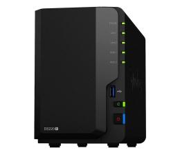Dysk sieciowy NAS / macierz Synology DS220+ (2xHDD, 2x2-2.9GHz, 2GB, 2xUSB, 2xLAN)