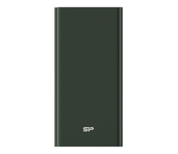 Powerbank Silicon Power QP60 10000mAh, zielony